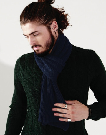 Metro Knitted Scarf