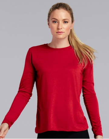 Gildan Performance® Ladies' LS T-Shirt