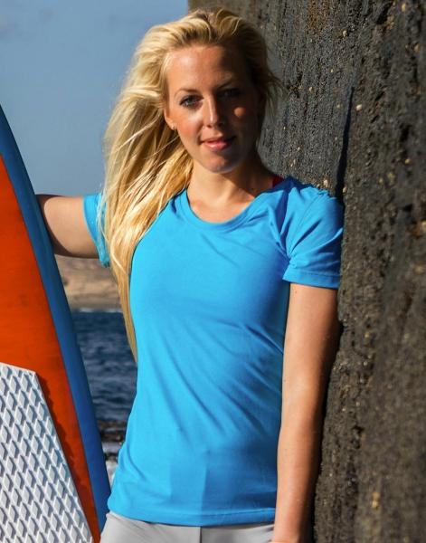 Fitness Women's Shiny Marl T-Shirt