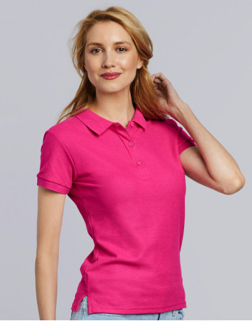 Premium Cotton Ladies' Double Pique Polo