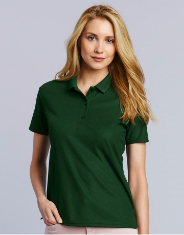 Performance® Ladies' Double Pique Polo