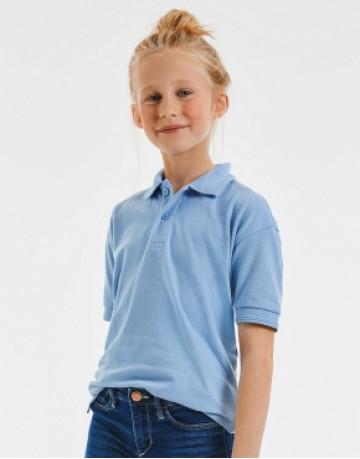 Kids' Hardwearing Polycotton Polo