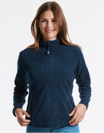 Ladies' Fitted Full Zip Microfleece