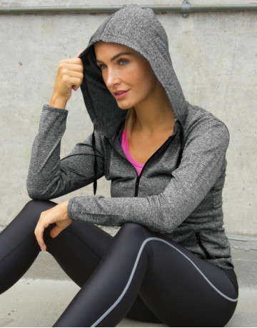 Women's Hooded Tee-Jacket