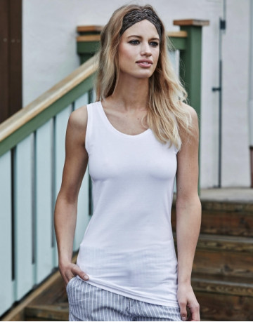 Ladies Stretch Top Extra Long