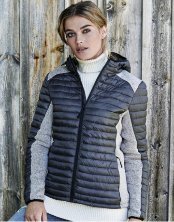 Ladies' Hooded Outdoor Crossover Jacket