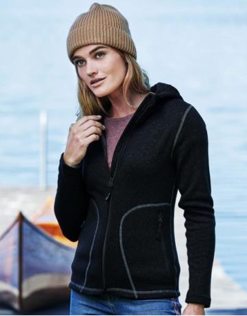Ladies Outdoor Hooded Fleece